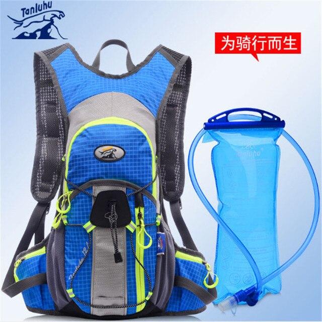 Спортивный рюкзак TANLUHU 643 нейлон 12L бег рюкзак горный велосипед Велоспорт сумка для 2L водонепроницаемый рюкзак для активного отдыха пеший туризм