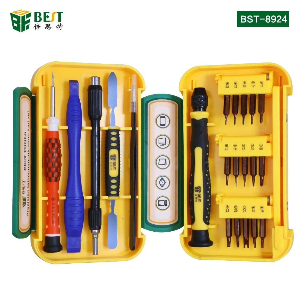BEST-8924 21 in 1 پیچ گوشتی دقیق ابزارهای - مجموعه ابزار