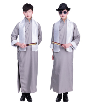 Japanese Army Uniform Officer Military Clothing Republic of China Rural Auntie Clothing Stage Drama Performance Costume Cosplay 3