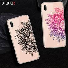 UTOPER Flower Phone Case For Huawei P20 Case Silicone Cover For Huawei P20 Lite Case For Huawei P8 P9 Lite 2017 Coque P10 Lite