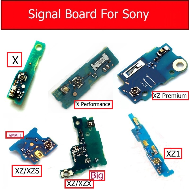 Signal Antenna Jack Board For Sony Xperia X/X Performance/ XZ Premium/XZ/XZS/XZ1 Antenna Connector Circuits Board Repair Parts