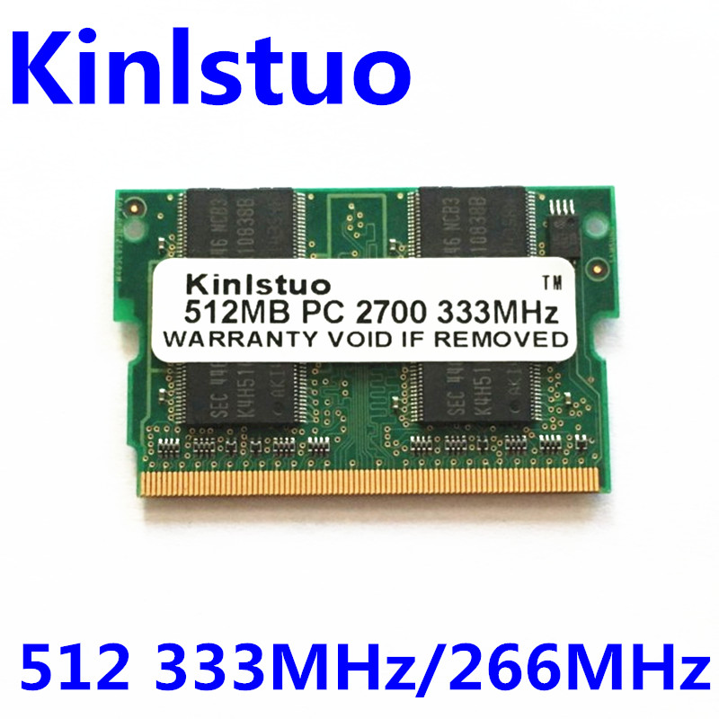 S17C S26C 512MB DDR 333MHz MicroDIMM Memory for Sony S16C S18GP