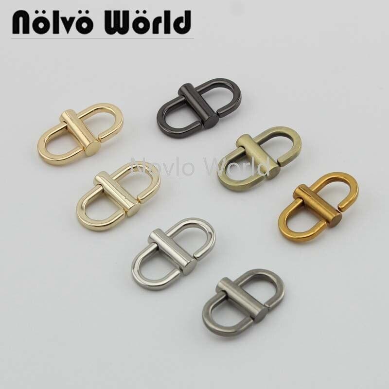 Wholesale 500pcs, 7 Colors Accept Mix Color, 22*11mm 1/2 Inch, Metal Trigger Snap Hook Handbag Buckle Chain Swivel Clasp Hook