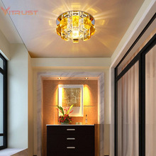 Mini Porch Corridor Ceiling Lamp for front balcony porch Mini Flush Mount Modern LED Home Indoor Lighting AC110-240V robert wood my front porch view