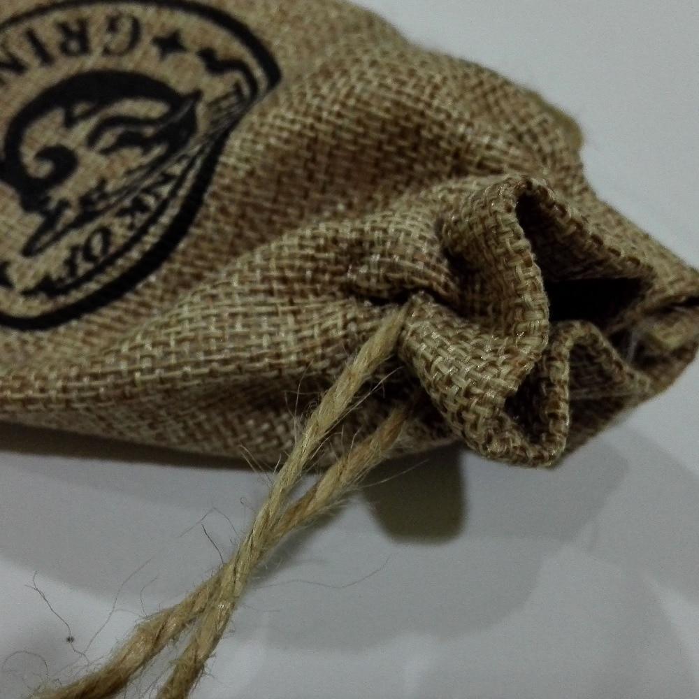 Gringotts Bank Wizarding Bank Key And Logo Sack 2Pcs Set Hogwarts Collectible