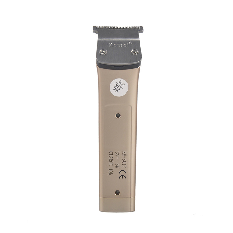 Kemei KM-5017 Electric Hair Clipper Trimmer Rechargeable Ergonomically Shaver Razor Cordless Adjustable Clipper For Child Pet -5