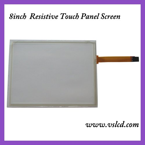 8inch 4 wire resistive touch screen panel 8inch touch panel amt 146 115 4 wire resistive touch screen ito 6 4 touch 4 line board touch glass amt9525 wide temperature touch screen