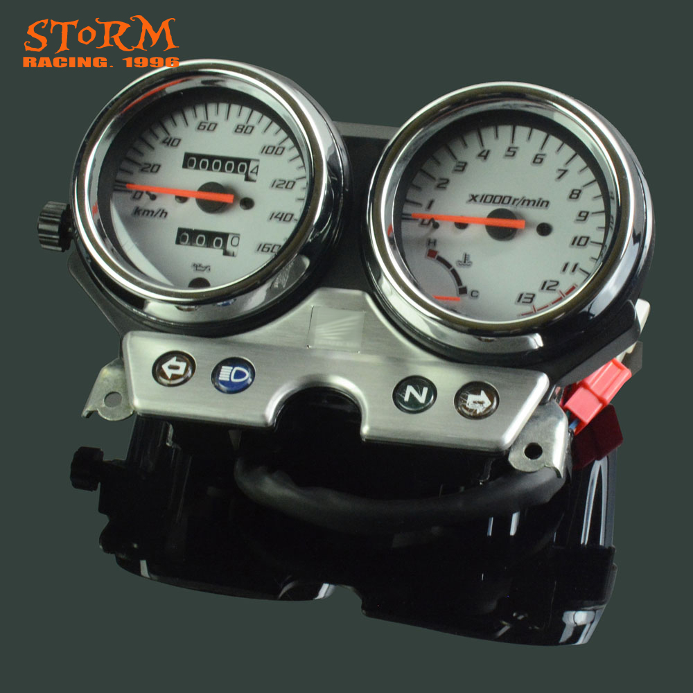 Motorcycle Speedometer Tachometer Odometer Display Gauges For Honda VT250 VTR250 2002 2003 2004 2005 2006 2007 new abs plastic speedometer gauges tachometer instrument cover case for yamaha yzf r1 2002 2003 r6 2003 2004 2005