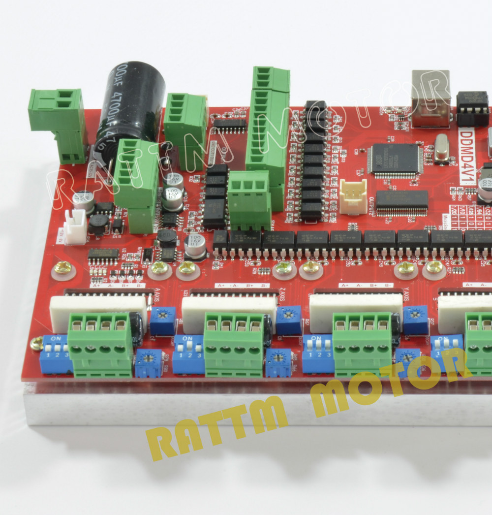 Powerful Cnc 200khz 4 Axis Usb Mach3 Driver Board Cnc Controller Board 4a Current V Type In Motor Driver From Home Improvement On Aliexpress Com Alibaba