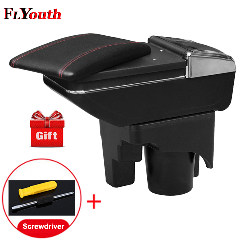 For Volkswagen Mk5 Golf Mk 5 6 2005 2011 Car Armrest Box Central Store Content Box Cup Holder Interior Car Styling
