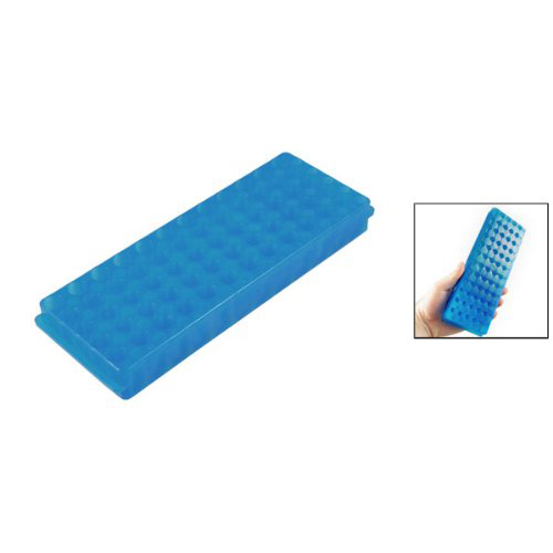 Affordable Plastic 60 Sockets 11mm Diameter Test Tube Stand Blue