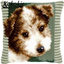 DIY knitting needles kit pillow kits car cushion cover kits embroider needlework