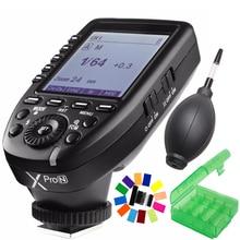цена Godox Xpro-N i-TTL II 2.4G Wireless Trigger High Speed Sync 1/8000s X system with LCD Screen Transmitter For Nikon DSLR онлайн в 2017 году