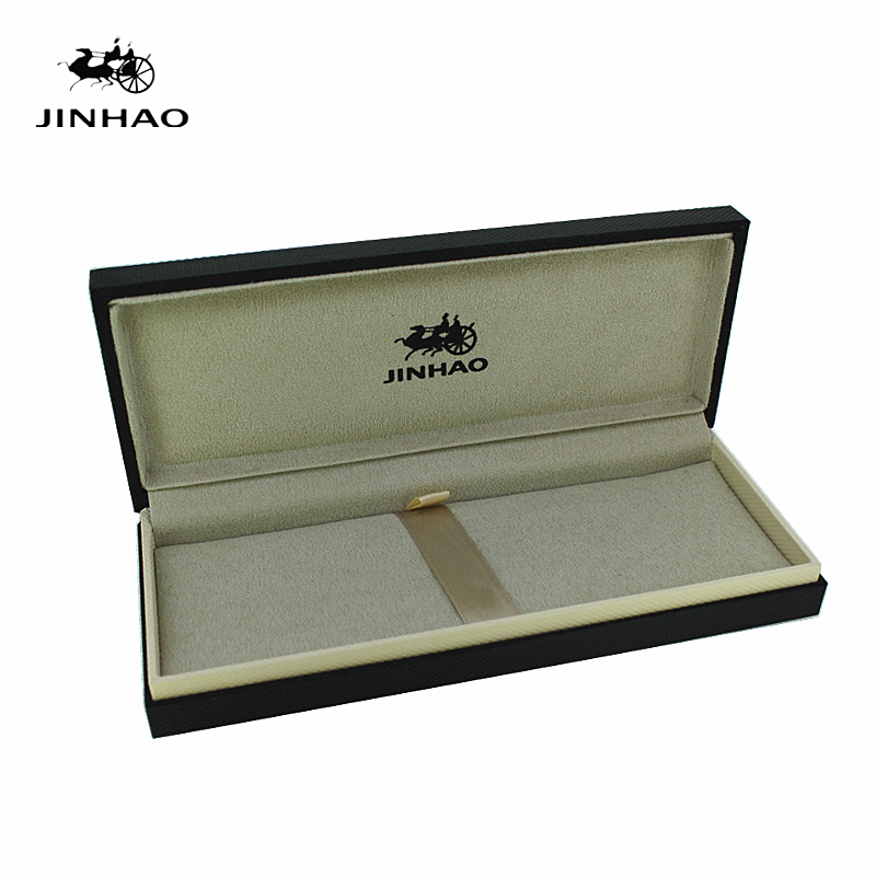 Jinhao Black Noble Original Wooden Pen Box for Fountain Pen No Include The Pen new jinhao gray fountain pen broad nib two dragon play the pearl without original box