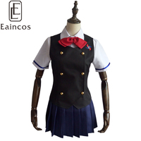 Anime Another Misaki Mei School Uniform Cosplay Party Costume Dress Customized Size
