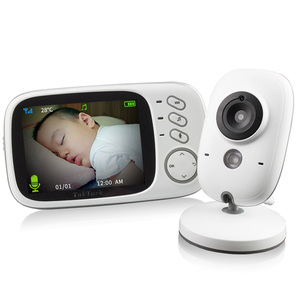 Image 5 - TakTark 3.2 inch Wireless Video Color Baby Monitor portable Baby Nanny Security Camera IR LED Night Vision intercom