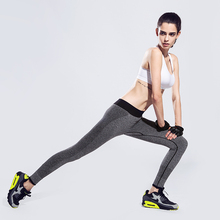 High Elastic Women Sports Tights Pants Patchwork Waist Mallas Mujer Deportivas Yoga Leggings Outdoor Jogging Gym Fitness Clothes