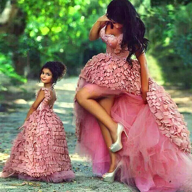 Beautiful Ball Gown Abendkleider Event Mother Daughter Matching ...
