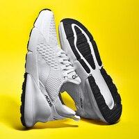Бренд дизайн 2019 хит продаж Новые мужские кроссовки модная подушка из вентилируемой ткани мужская повседневная обувь Wo мужские кроссовки ...