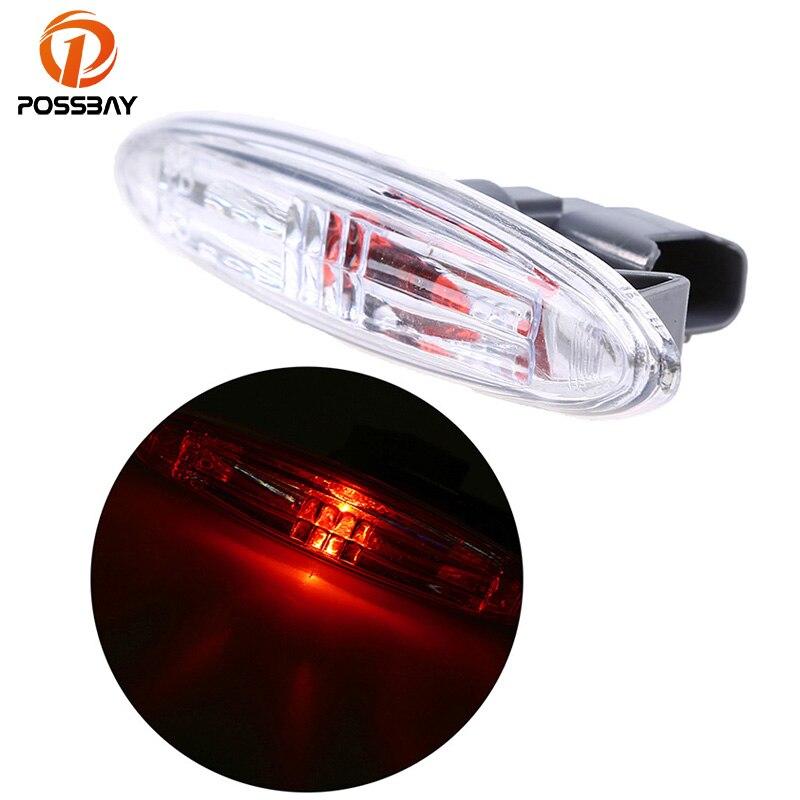 POSSBAY LED Light Front Fender Flares Side Marker Turn Signal Light LED Lamp for Toyota Highlander/KLUGER GSU4 2007-2013