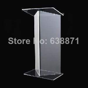 Free Shiping Clear Transparent Acrylic Lectern