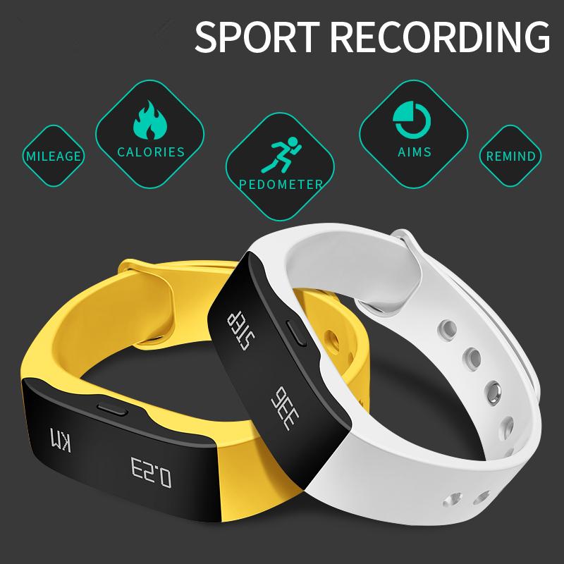 Prix pour 2016 D'origine Sport Smart Bracelet Message D'appel Rappel Étanche pour Android 4.3 IOS 5 Fitness Tracker L28T Numérique-Montre