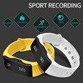 2016 Original Esporte Pulseira Inteligente Chamada Lembrete Mensagem À Prova D' Água para o Android 4.3 IOS 5 Rastreador De Fitness L28T Digital-Relógio