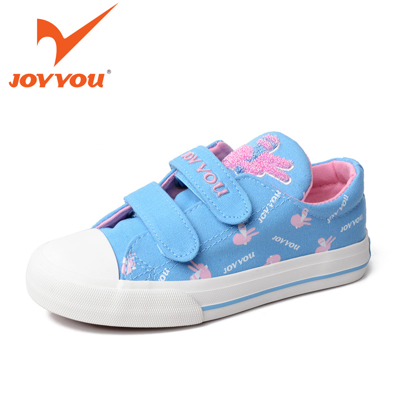 JOYYOU Brand 2017 Children Espadrilles Kids Shoes Girls Canvas Shoes Sweet  Pattern Shoes Baby Flats Casual Shoes For Girl592512 joyyou brand kids shoes boys girls school sneakers children teenage footwear baby slip on canvas toddler for child fashion shoes