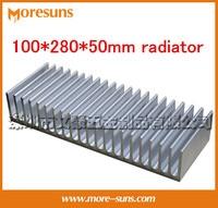 Fast Free Ship Computer Case Cooling Machine Cooling Block 100 280 50mm Dense Tooth Radiator Power