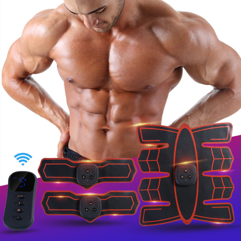 Vibration Abdominal Muscle Trainer  (10)