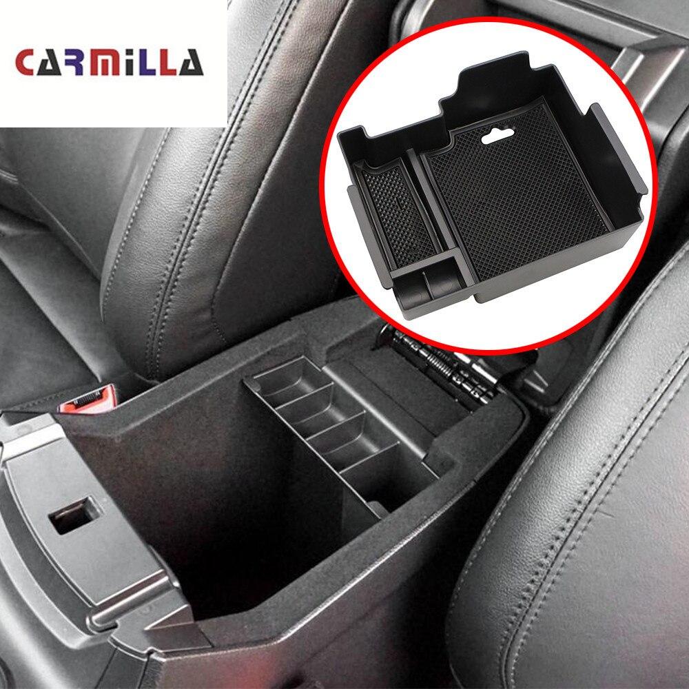 Carmilla Armrest Storage Box for Ford Explorer 2011-2017 2018 Center Console Bin Glove Tray Holder Case 2012 2013 2014 2015 2016Carmilla Armrest Storage Box for Ford Explorer 2011-2017 2018 Center Console Bin Glove Tray Holder Case 2012 2013 2014 2015 2016