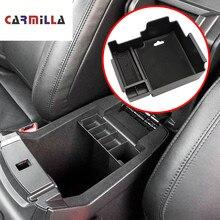 Carmilla подлокотник коробка для хранения Ford Explorer 2011-2017 2018 центральная консоль Bin перчатка лоток держатель Чехол 2012 2013 2014 2015 2016
