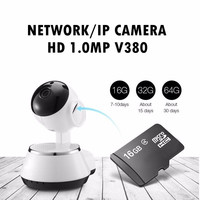 IP Camera WiFi Wireless Home Security Network Surveillance HD 720P Mega Baby Monitor Night Vision CCTV