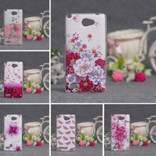 Luxury Case For LG Bello 2 II Cases Soft TPU Back Phone Cover For LG Max X155 Bag Skin Cases 3D Relief Printing Flower Covers