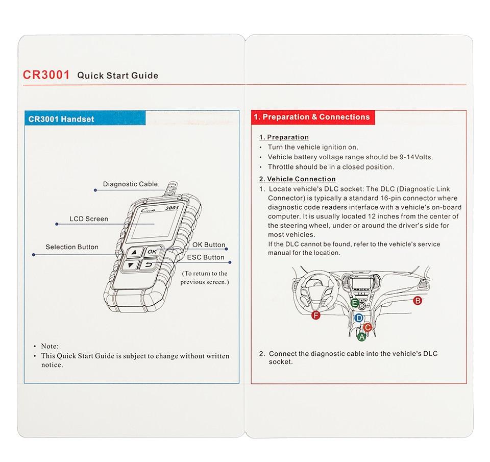 HTB1DUMpoL1TBuNjy0Fjq6yjyXXaF Launch X431 Creader 3001 OBD2 Automotive Scanner CR3001 Car Diagnostic Tool OBDII OBD 2 Code Reader Engine Scanner ELM327 NT200C
