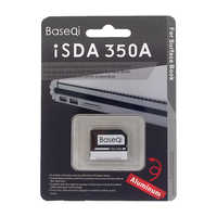 BaseQi Aluminum Stealth drive Micro SD /TF card adapter SD card reader For Microsoft Surface Book 13
