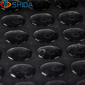 360pcs 15*3mm  self adhesive Black Silicone Rubber Feet Pads High Sticky Silica Shock Absorber Anti Slip Bumpers Damper Pads