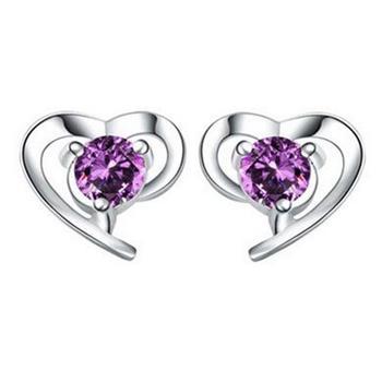 OMHXZJ-Wholesale-Fashion-girl-woman-jewelry-AAA-zircon-Amethyst-purple-heart-925-Sterling-silver-Stud-earrings.jpg