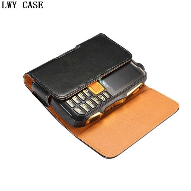 Leather Pouch Case Belt Clip Pouch Holster Cover For Nokia