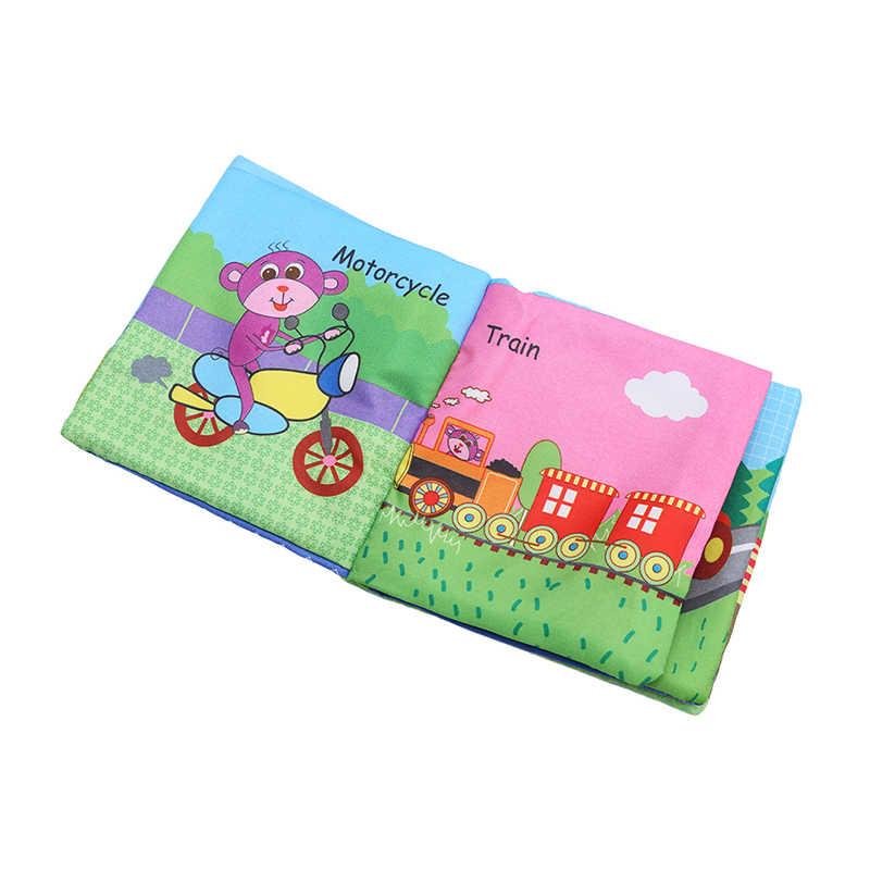 8/10 páginas sonajeros móviles para bebés juguete suave libro de tela animales cochecito para recién nacido juguete colgante Bebe Aprendizaje Temprano juguetes educativos para bebés