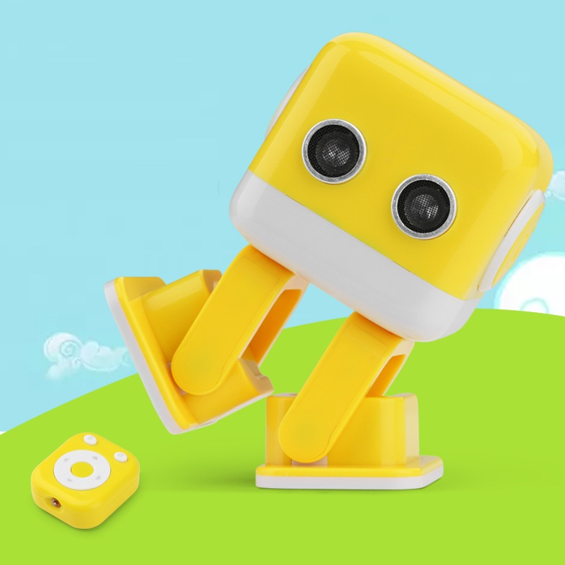 2018 New Intelligent entertainment Dancing Robot Toys F9 Music Lightening For Kids Boys Girls Telling Story,educational robot brand new yuxin zhisheng huanglong high bright stickerless 9x9x9 speed magic cube puzzle game cubes educational toys for kids