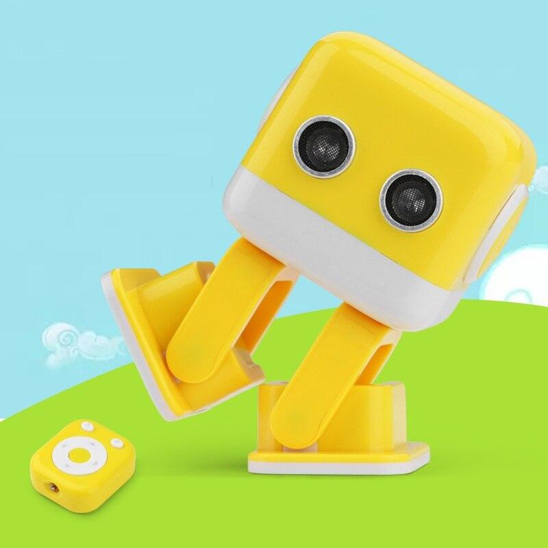 2018 nouveau divertissement Intelligent danse Robot jouets F9 musique éclaircissante pour enfants garçons filles raconter l'histoire, robot éducatif