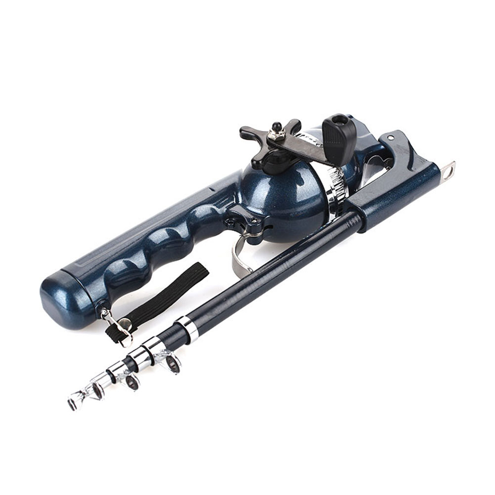 Телескопическая складная рыболовная удочка 131 см, соотношение 3,6: 1 комбинированная телескопическая катушка спиннинга из стекловолокна, спиннинга, спиннинга