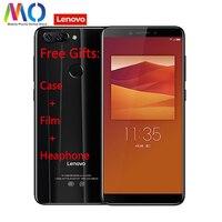 Глобальный lenovo K9 смартфон Android сотовый телефон 4 GB Оперативная память 32 ГБ Встроенная память MTK6762 Octa Core 5,7 дюйма Quad Камера 13.0MP 3000 mAh разблокиро