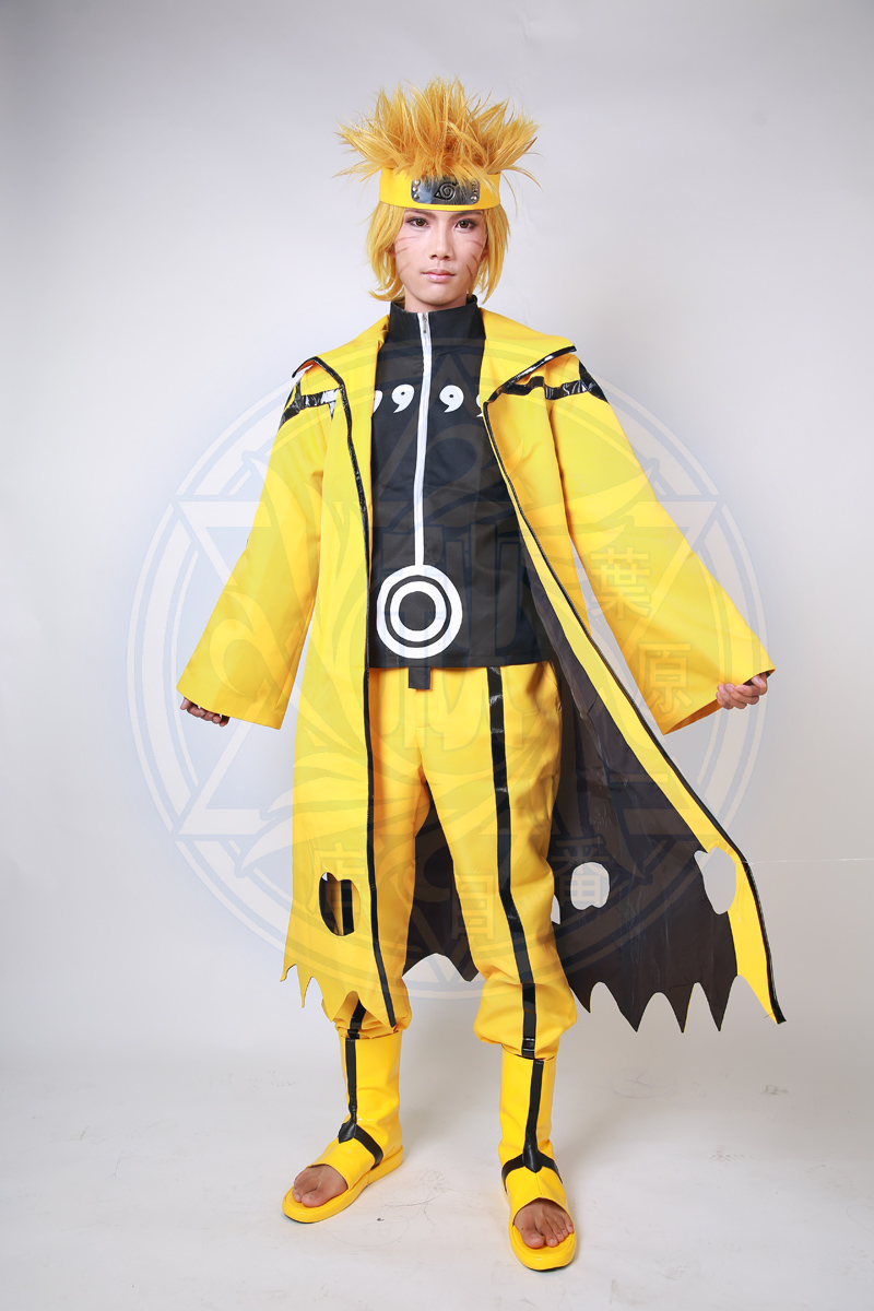 Sexy Halloween Christmas Carnival Naruto Uzumaki Naruto Nine Tails Bijuu  SIx Paths Mode Anime Cosplay Costume/Cosplay Wig/Shoes on Aliexpress.com |  Alibaba ...