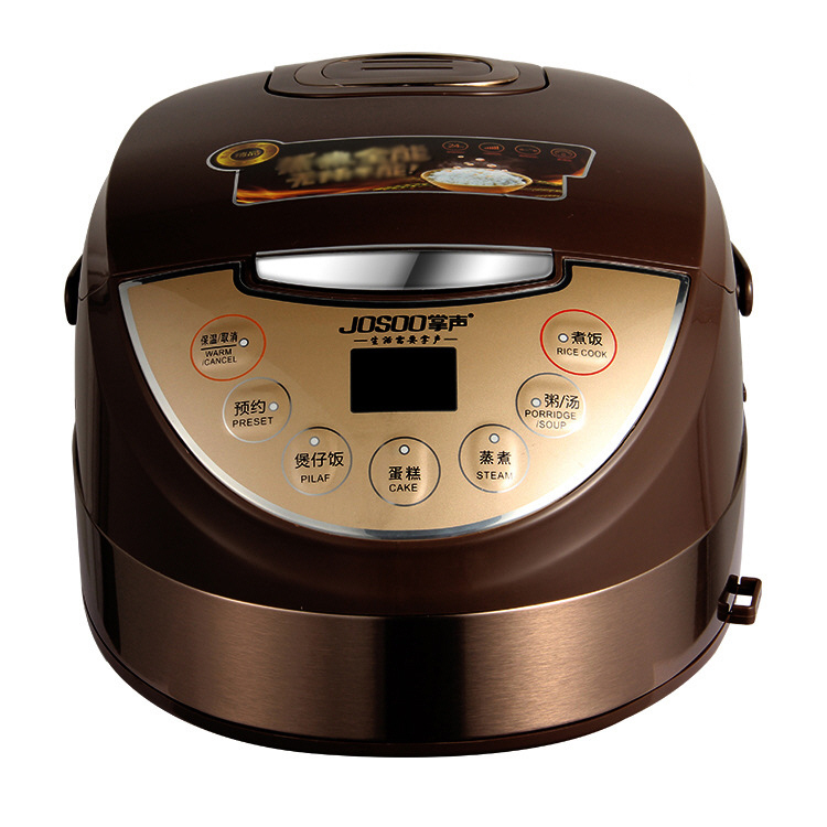 Rice Cooker Intelligent Cooking Rice Cooking Timing Reservation English Translation Instruction Manual 2-3-4-5 People 4-5L