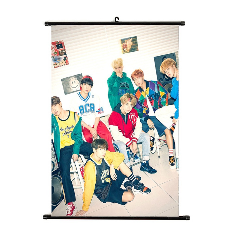 Sporting Kpop Bts New Album Love Yourself:answer Mini Wall Scroll Poster Hanging Up Photo Home Decor Jewelry Findings & Components Beads & Jewelry Making