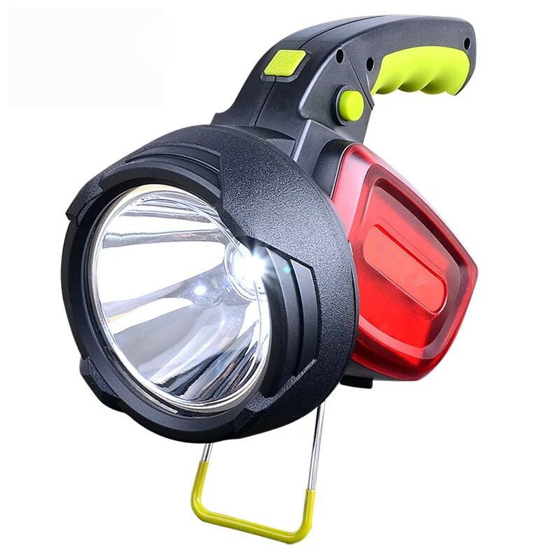 купить New Portable Searchlight LED Rechargeable Strong Light Portable Lamp Outdoor Waterproof Multifunctional Flashlight Camping Lamp недорого