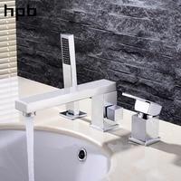 Блаватская Ванная комната смеситель бассейна коснитесь Для ванной раковина Pull Out хром смесители термостатические hp3208a