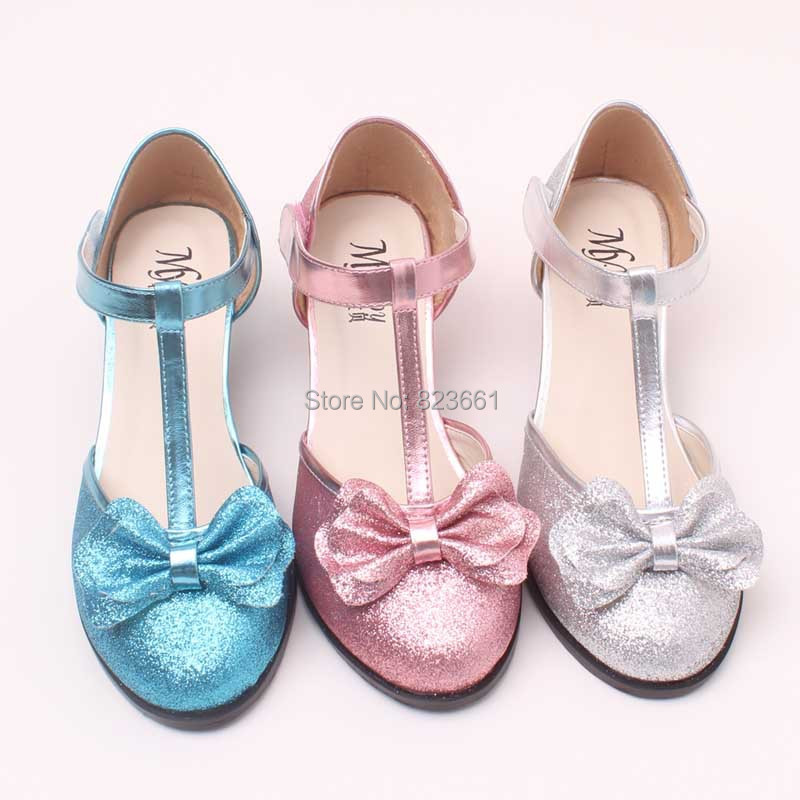 Aliexpress.com : Buy High Quality Silver Girls Wedding Shoes High